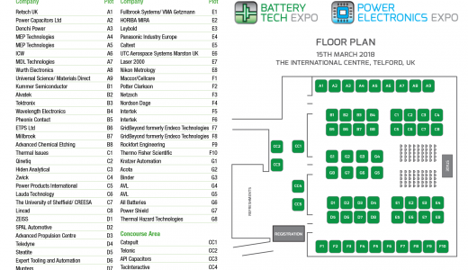 Exhibitor Floor Plan